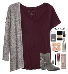I 🍩 know what to caption this... by tropical-girl-xo on Polyvore featuring polyvore fashion style Aéropostale H&M Falke Earth Michael Kors Urban Decay Too Faced Cosmetics Chantecaille Givenchy OPI S'well clothing