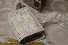 Painted Canvas Journal Covers - 7gypsies
