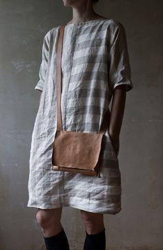 linen tunic by Marlen Karema