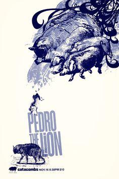 Pedro The Lion     by 33rpm Design