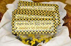 Amelia's Bumble Bee Birthday Party