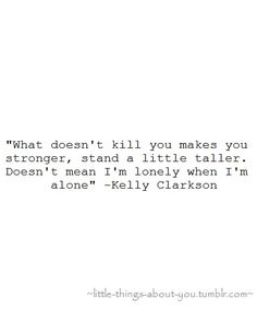 Kelly Clarkson. cant help not sing when I hear this song.... love it.