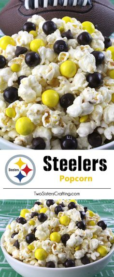 These Pittsburgh Steelers Rice Krispie Treats Team Jerseys are a fun football dessert for a game day football party, an NFL playoff party, a Super Bowl party or as a special snack for the Pittsburgh Steelers fans in your life. Go Steelers! And follow us for more fun Super Bowl Food Ideas.