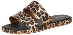 Chic Melissa Women's Color Pop Sandals leopard print sandals. ($65) findtopgoods from top store