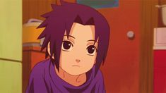BEHOLD THE CUTENESS THAT IS LITTLE  BITTY SASUKE.