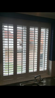 Holkham Shutters - handmade plantation shutters, made in the uk to any size and style.  http://www.holkhamjoinery.co.uk/ 01553 673516 #handmade #plantation #shutters #white #window #wood #quality #joinery #interior #design