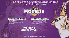 El Ayuntamiento de Morelia, a través de su Secretaría de Turismo, invita a disfrutar de la edición número 15 del Jazztival que se llevará a cabo del 8 al 11 ...
