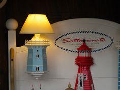lampada - applique mezzo faro da parete