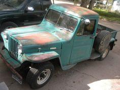 Willys Rat Rod Truck | Rat-rod Willys Jeep Pickup