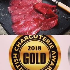 Gold for Craven Longhorn Bresaola in the British Charcuterie Awards #bca2018 #proudaspunch #chuffed #charcuterie #longhorn @pastureforlife @britishcharcuterie
