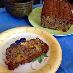Gluten free mango walnut bread