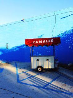 Tamale vender