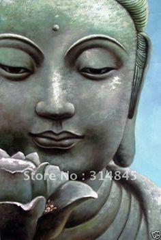 Lotus Buddha Painting
