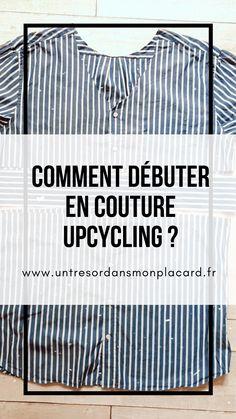Techniques Couture, Designer Textile, Refashion, Dressing, Lifestyle, Sewing, Blouse, Crochet, Totalement