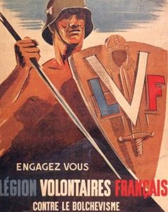 Recruiting poster for a French SS Legion.