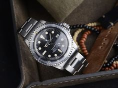 Curated 'Ghost Rebel' Rolex 1680 Submariner