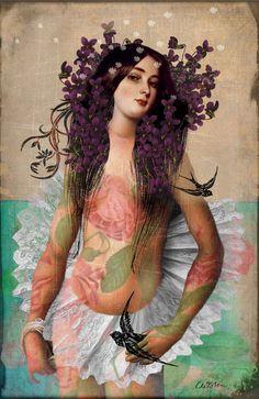 """♥ """"Portrait 06"""" - Catrin Welz-Stein"""