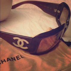 CLASSIC CHANEL! Beautiful Authentic Chanel!!!!!! Price firm!!! No low balling. A few scratches but overall good condition for price!!! CHANEL Accessories Glasses