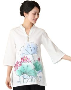 US $42.00     Get Stylish Clothes On A Budget!     FREE Shipping Worldwide     Get it here ---> http://ebonyemporium.com/products/shanghai-story-cheongsam-shirt-chinese-womens-clothing-blend-linen-blouses-shirt-qipao-top-chinese-traditional-clothing-2-style/    #minidresses