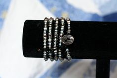 5 wrap leather bracelet by Projectbabyshuford on Etsy