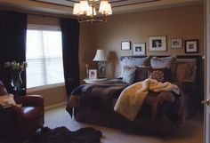 Nate Berkus' Greatest Hits - Craig and Traci's Bedroom - Oprah.com...good spot for photos...over the bed.