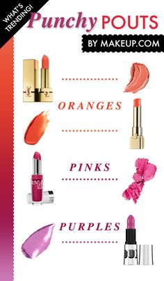 the best bright lipstick colors // i really want to try that top one