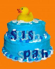 Cute duckie cake