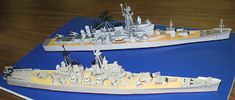 "Conversion of a WWII ""Big Gun"" Cruiser to a Guided Missile Cruiser - Now Completed"