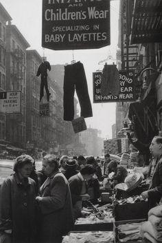 New York, 1961 | Photo: Sabine Weiss