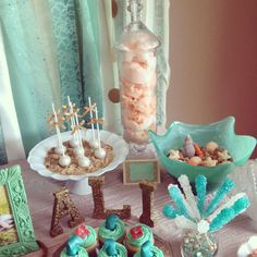 Under the Sea/ Mermaid Birthday Party Ideas | Photo 2 of 55 | Catch My Party