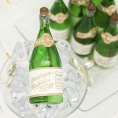 "How about bubbles for your wedding toss? ""Bubbly"" Champagne Bubbles (Set of 24) Sale Price: $0.50 (15% off)"