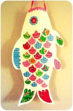 Petit tutoriel pour réaliser soi-même un koinobori. Ce sera pour notre fête de l'été 2015 !