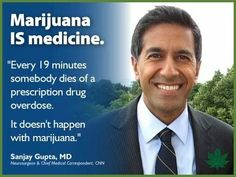That's pretty revolutionary thinking there, Dr. Gupta.  Oh, wait...cannabis was listed in the United States Pharmacopeia from 1850 until 1942.  #420