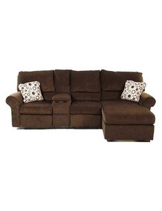 Sectional sofa with recliner and chaise