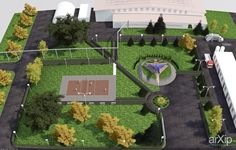 Монумент+ландшафт: архитектура, ландшафтный дизайн, 1 эт | 3м, минимализм, 0 - 100 м2, каркас - металл, объекты малых форм, памятник, монумент, современный стиль, городской парк, 10 - 20 соток #architecture #landscapedesign #1fl_3m #minimalism #0_100m2 #frame_metal #smallobjects #monument #modernstyle #citypark #10_20acres arXip.com