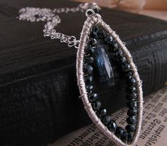 This sleek pendant would be perfect with a white blouse and stunning with a sexy black cocktail dress - love the pieces that work overtime!!