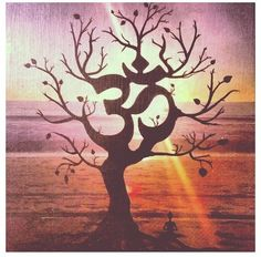 Om and tree