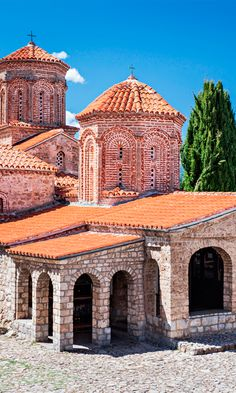 Saint Naum's monastery is an Eastern Orthodox monastery well over 1000 years old that overlooks the picturesque Lake Ohrid #Macedonia