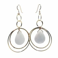 White Haven Earrings | Lisa Dora