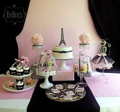 Paris mesa dulce