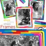Disco Drinking Straws Frames