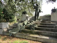 At the Hebrew Rest Cemetery in Lafayette, Louisiana ~ Grave of Mary Plonsky Bendel Falk