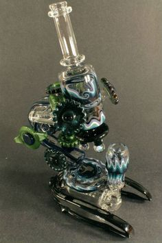 Weed science redefined: Microscope marijuana pipe