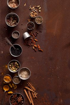 Especias / Fátima Gómez Photography / Food Styling & Photography Food Background Wallpapers, Food Wallpaper, Food Backgrounds, App Background, Food Graphic Design, Food Menu Design, Food Poster Design, Food Styling, Food Flatlay