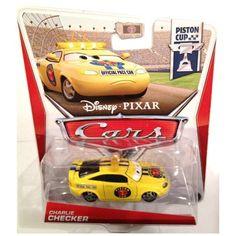 Disney / Pixar 2013 CARS 2 Movie 155 Die Cast Car CHARLIE CHECKER