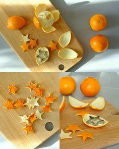 guirlande de Noël faite de fruits secs, comment fabriquez vous memes une guirlande de noel