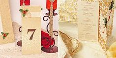 Table numbers for a fancy wedding Table Numbers, Paper Shopping Bag, Place Cards, Gift Wrapping, Place Card Holders, Fancy, Gifts, Wedding Ideas, Wedding Card