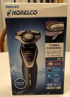 Phillips Norelco 5800 Electric Shaver Razor for Wet or Dry Use NEW IN BOX #PhilipsNorelco