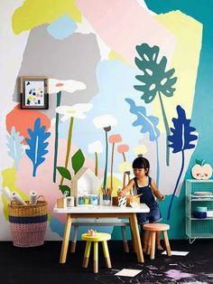 Het restylen van een kamer op een simpele manier? Verander gewoon een muur!