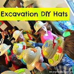 Dinosaur Excavation Pit Dig and Fossil Puzzle Birthday Party   CatchMyParty.com